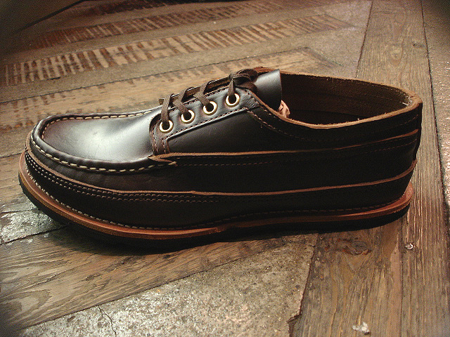"NEW : RUSSELL MOCCASIN CO. [MINIMALIST HURON] ""Espresso Navigator\"" _a0132147_184024.jpg"