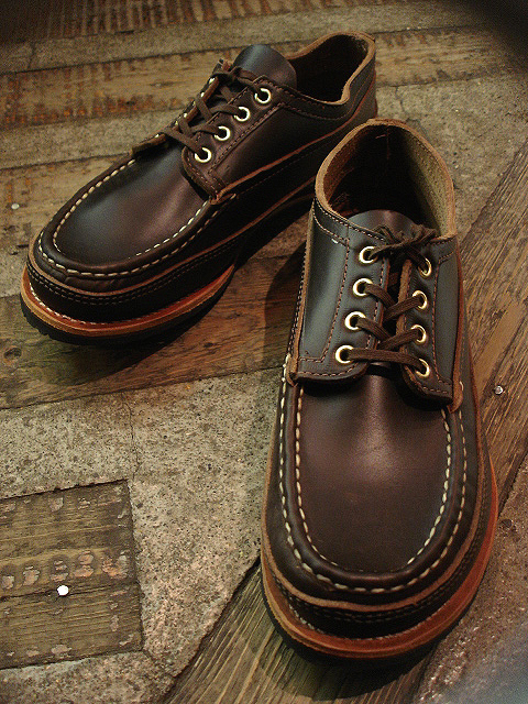 "NEW : RUSSELL MOCCASIN CO. [MINIMALIST HURON] ""Espresso Navigator\"" _a0132147_185693.jpg"