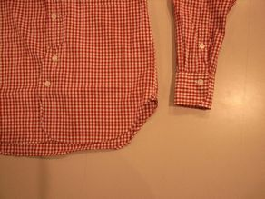 """TheThreeRobbers BOTTON DOWN COLLAR SHIRT GINGHAM\""ってこんなこと。_c0140560_11163078.jpg"