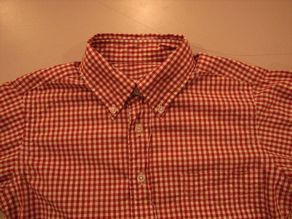 """TheThreeRobbers BOTTON DOWN COLLAR SHIRT GINGHAM\""ってこんなこと。_c0140560_1116575.jpg"