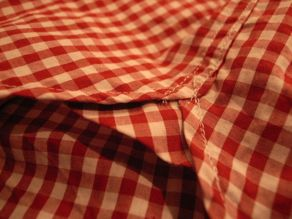 """TheThreeRobbers BOTTON DOWN COLLAR SHIRT GINGHAM\""ってこんなこと。_c0140560_11171817.jpg"