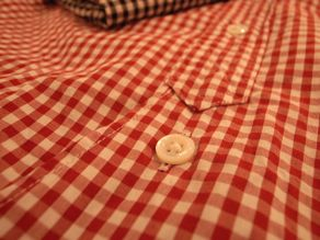 """TheThreeRobbers BOTTON DOWN COLLAR SHIRT GINGHAM\""ってこんなこと。_c0140560_1117748.jpg"