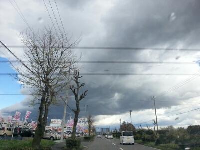 空が!(゜ロ゜;_e0305508_925047.jpg