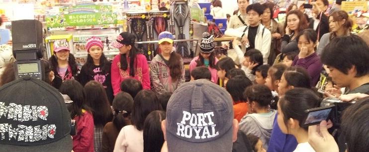 ポップスニーカーズによる初イベントはイオン品川シーサイド店でした!_d0148223_9444829.jpg