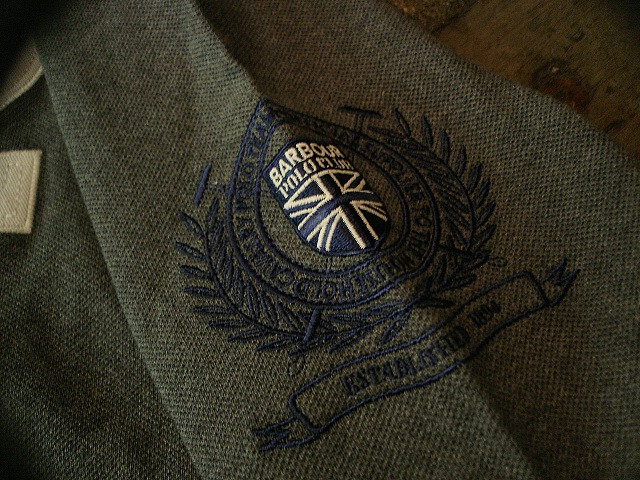 NEW : Barbour [Mallet Long Sleeved Polo] & [Chukker Polo] !!_a0132147_031271.jpg