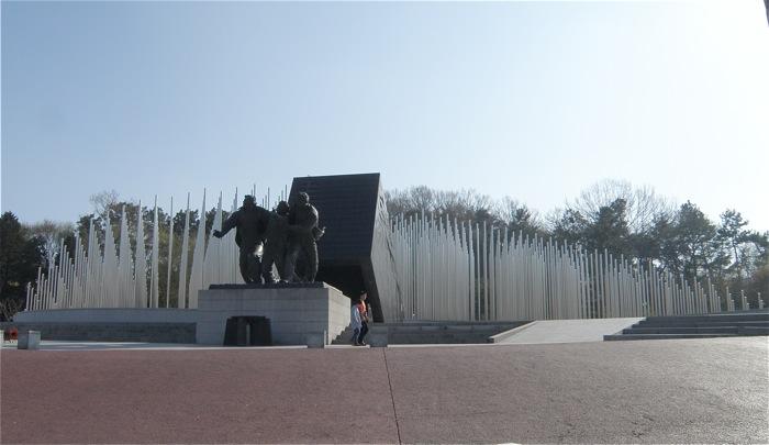 光州学生独立運動記念館に行って...