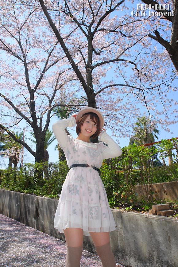 ondineさん花見ロケ ポトレ編 其の壱_d0150493_2345833.jpg
