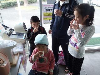 桜茶の無料サービスデイ_c0184994_1825459.jpg