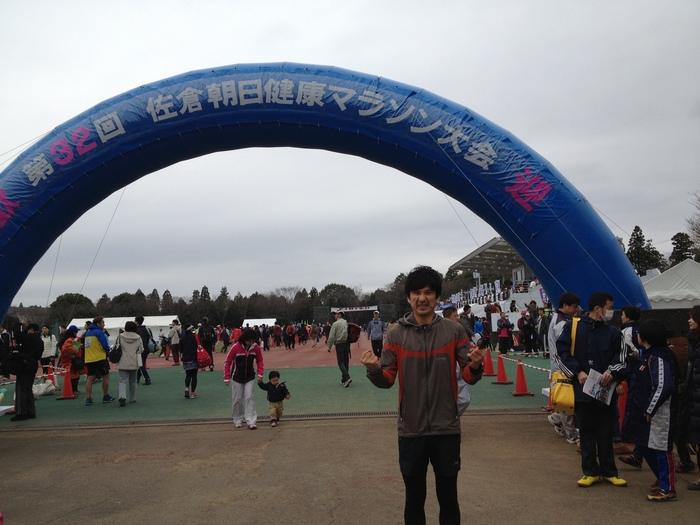 はじめて42.195kmに挑戦!! レポ その3 スタート前_c0222817_2232951.jpg