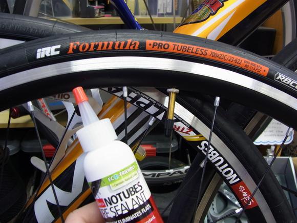 自転車の 自転車 チューブレス パンク : !ロードバイクチューブレス ...
