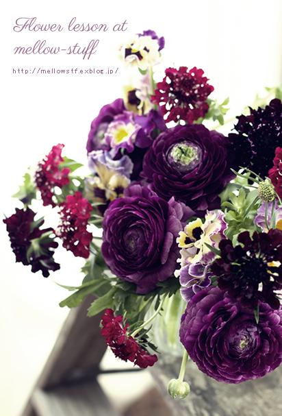 春のお花のレッスンは、こんな感じで。_d0124248_1826343.jpg