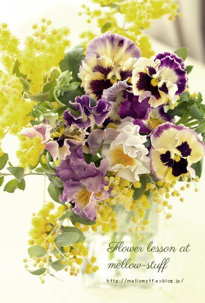 春のお花のレッスンは、こんな感じで。_d0124248_18284371.jpg