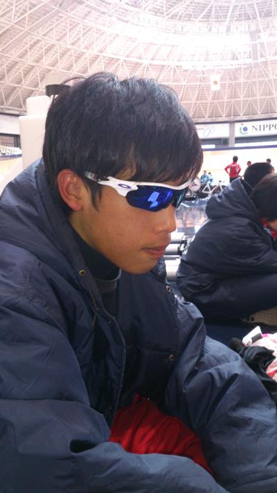 金栄堂サポート:日本大学自転車競技部・和田力選手アイウェアインプレッション!_c0003493_10365755.jpg