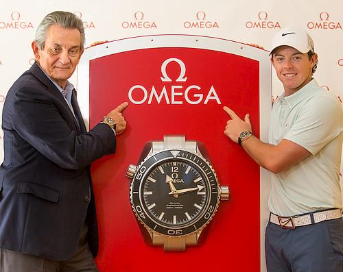 オメガがゴルフ界の2大巨星ローリー選手、ステイシー選手と契約_f0039351_02186.jpg