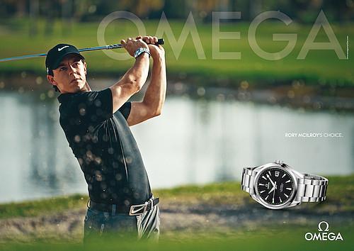 オメガがゴルフ界の2大巨星ローリー選手、ステイシー選手と契約_f0039351_0222255.jpg