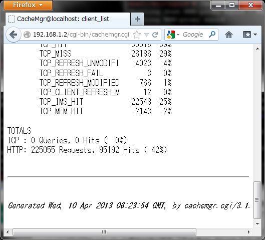 SUSE 11 で Squid3 を導入、設定_a0056607_18563515.jpg