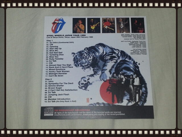 THE ROLLING STONES / STEEL WHEELS JAPAN TOUR 1990_b0042308_23195271.jpg