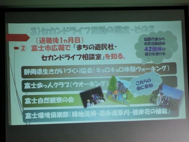 年に一度の「富士市セカンドライフ促進ネットワーク会議」_f0141310_7294187.jpg