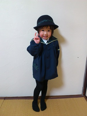 娘たちの入学式&入園式_e0128024_112723.jpg