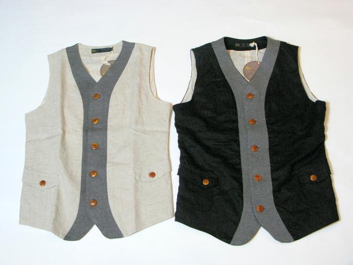◆Linen×Knit Tailor Vest_e0142928_1426991.jpg