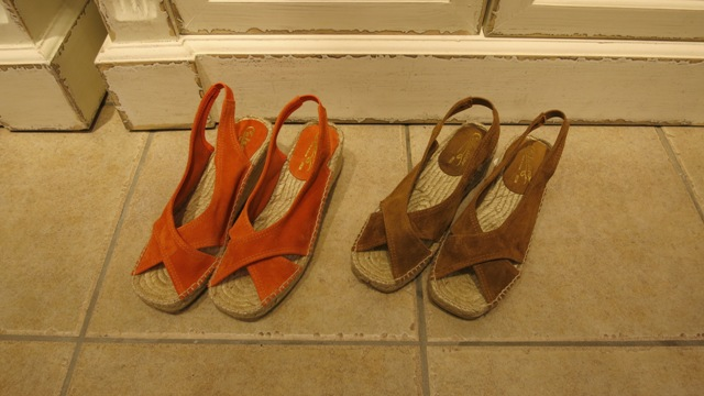 この春夏のCarzanor サンダルです。_c0227633_1350417.jpg