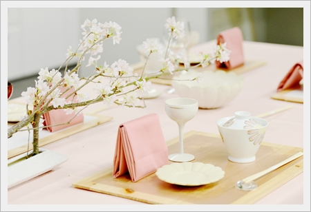 お花見テーブル♪ ~ブラッシュアップクラス_d0217944_23345250.jpg