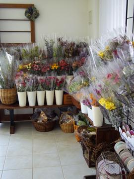 今月の花材コーナー♪_d0167088_9522589.jpg
