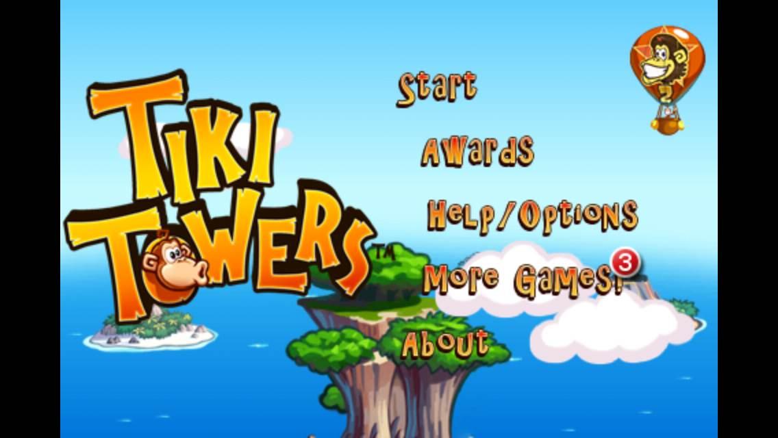 無料セール中!サルに全てのバナナをゲットさせる物理系パズルゲームアプリ「Tiki Towers」_d0174998_1127420.jpg