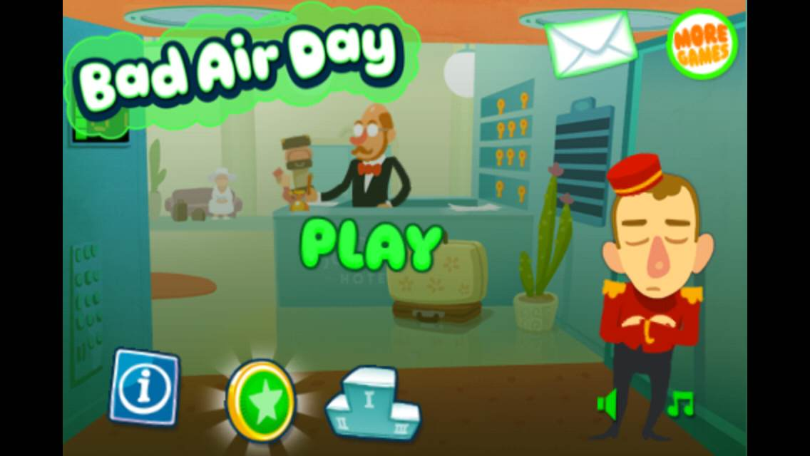 無料セール!エレベーターでオナラが出たらどうしますか?オナラ消臭ゲームiPhoneアプリ「Bad Air Day」_d0174998_1450436.jpg