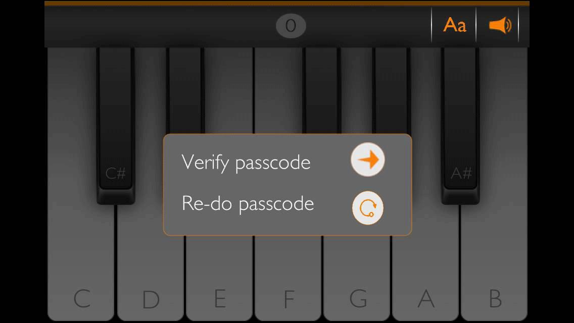 PianoPass スクリーンショット3