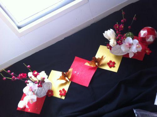 和の会場装花 手作り編_c0043737_1675376.jpg