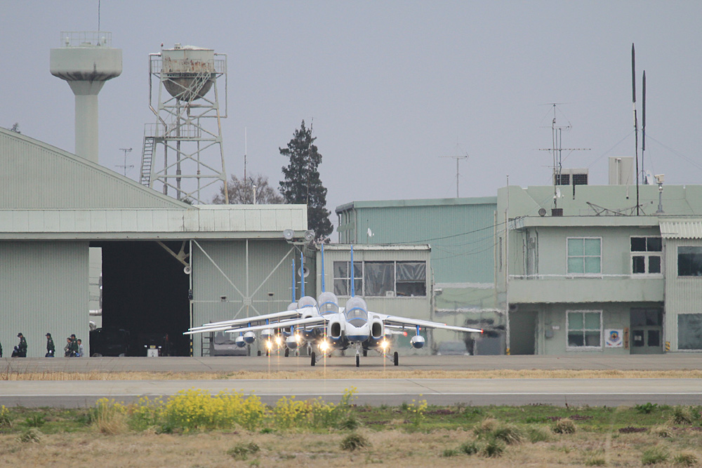 JASDF 2013.3.30 ブルーインパルス松島帰還 【JASDF Blue Impulse】_f0250322_19192832.jpg