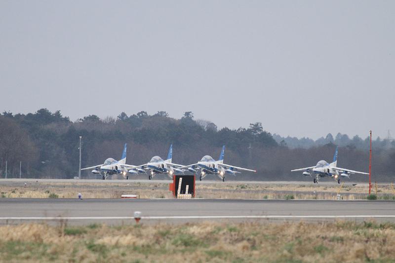 JASDF 2013.3.30 ブルーインパルス松島帰還 【JASDF Blue Impulse】_f0250322_19193587.jpg
