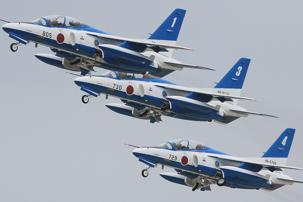 JASDF 2013.3.30 ブルーインパルス松島帰還 【JASDF Blue Impulse】_f0250322_19194367.jpg