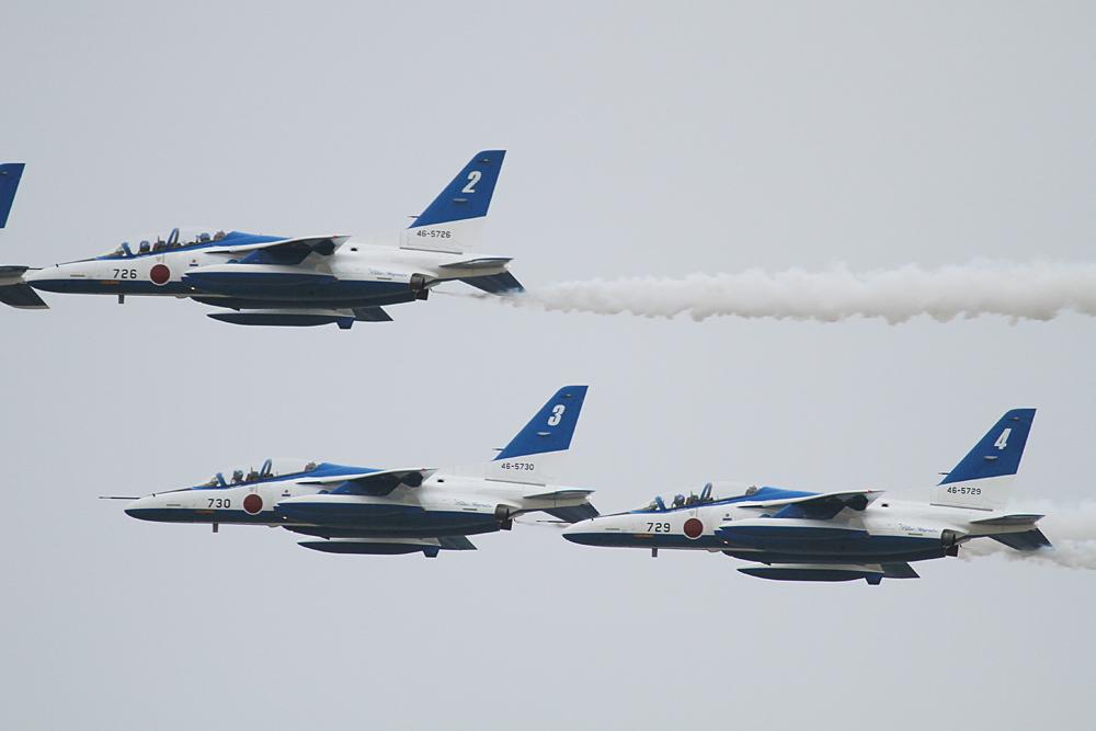JASDF 2013.3.30 ブルーインパルス松島帰還 【JASDF Blue Impulse】_f0250322_19195414.jpg