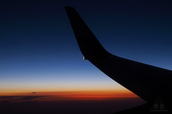 173 空 ~飛行機から見る最高の夕日~_c0211532_2345236.jpg