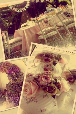 お花屋さんに会場装花のイメージを伝える_c0043737_075414.jpg