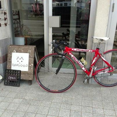 自転車 de 配達_b0183681_20301633.jpg