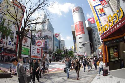 4月12日(金)の渋谷109前交差点_b0056983_13264444.jpg
