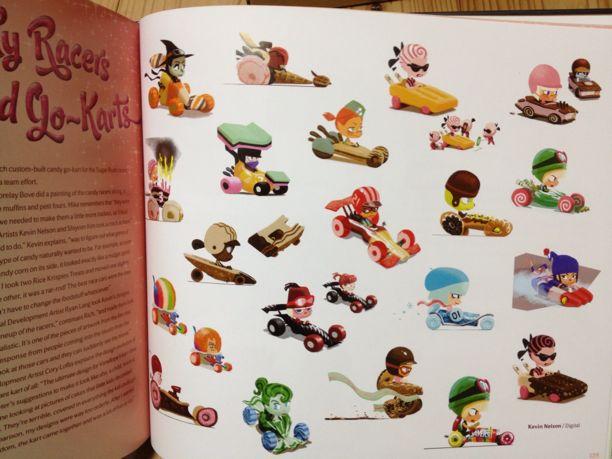 シュガーラッシュのアートブックがかわいすぎる件_e0170671_120257.jpg