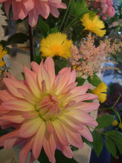 オークリーフ花の教室(中山さんの作品)_f0049672_1648174.jpg
