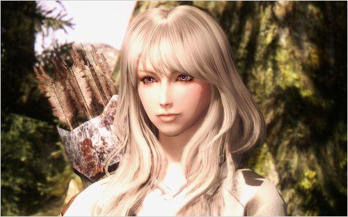 最新のヘアスタイル 妊娠中の髪型 : Skyrim Hair Mod Female