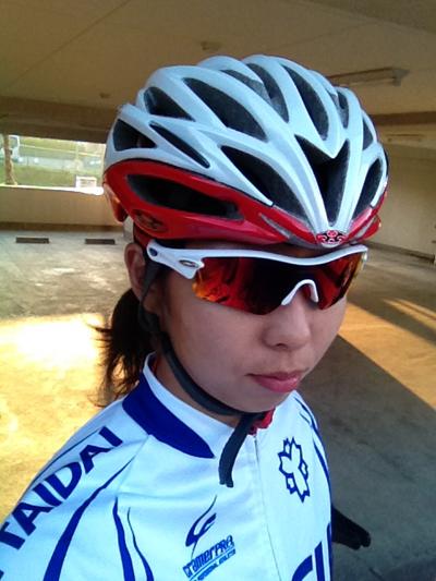 金栄堂サポート選手:日本体育大学自転車競技部・小島蓉子選手インプレッション!_c0003493_10272370.jpg
