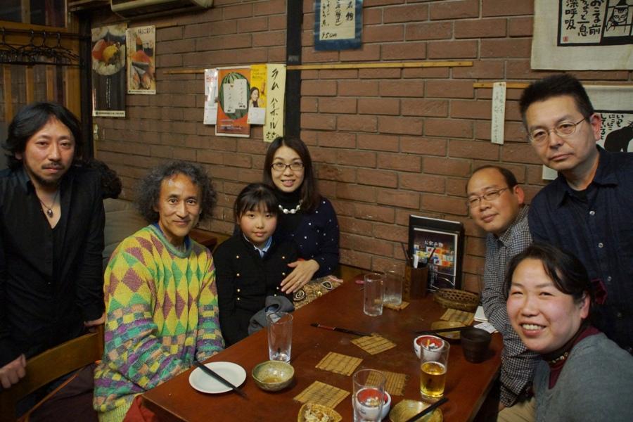 最後のおもろ会~『のら暦』を古民家かぐやでご覧の御一家と嬉しい再会@沖縄料理店おもろ~いつかまた_f0006713_12144859.jpg