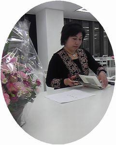 RoCoCo俳句講座の倉橋先生が♪_f0223914_10555285.jpg