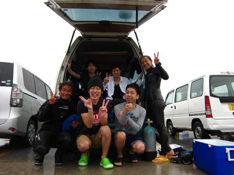 4月14日チームGANTZ(ガンツ)潜る!!_c0070933_22243559.jpg