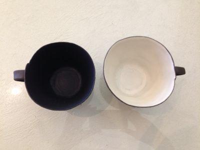 野上薫さんのマグカップ_b0132442_1664393.jpg