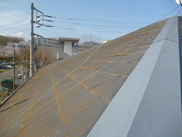 屋根・外壁の塗替えを始めています(神奈川県秦野市)_e0207151_646179.jpg