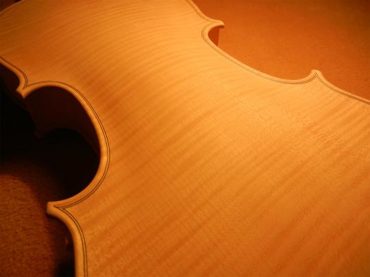 ホワイトヴァイオリンと、ホームズベア_d0047461_424874.jpg