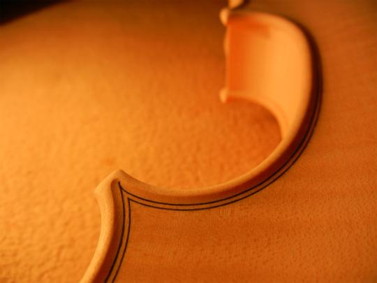 ホワイトヴァイオリンと、ホームズベア_d0047461_4283326.jpg